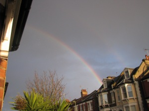 Aforementioned rainbow (double rainbow in fact!)