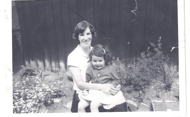 Me aged about four with my nan.