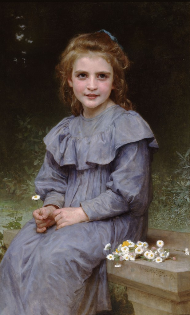 """William-Adolphe Bouguereau (1825-1905) - Daisies (1894)"" by William-Adolphe Bouguereau - This file is lacking source information.Please edit this file's description and provide a source.. Licensed under Public Domain via Commons - https://commons.wikimedia.org/wiki/File:William-Adolphe_Bouguereau_(1825-1905)_-_Daisies_(1894).jpg#/media/File:William-Adolphe_Bouguereau_(1825-1905)_-_Daisies_(1894).jpg"