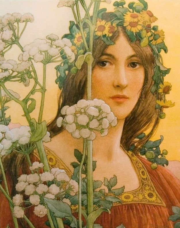 Elisabeth Sonrel's 'Our Lady of the Cow Parsley'