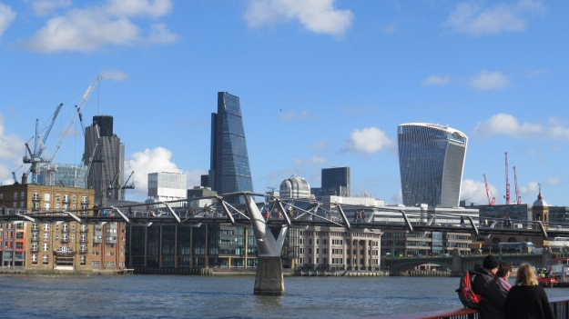 The Millennium Bridge, the Cheesegrater and the Walkie Talkie