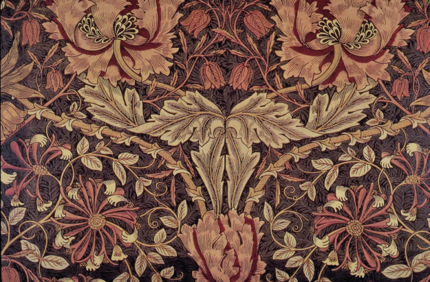 William Morris's Honeysuckle fabric