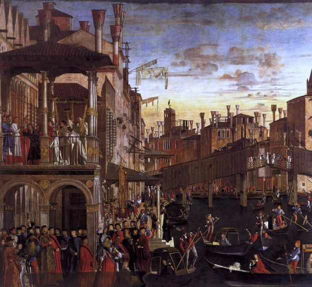 Miracle of the Holy Cross by Vittore Carpaccio