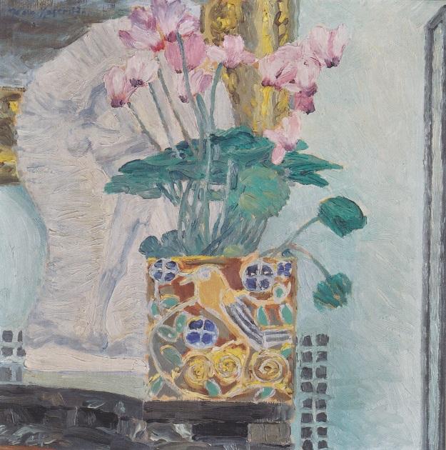 'Cyclamenstock' by Koloman Moser (1868-1918)