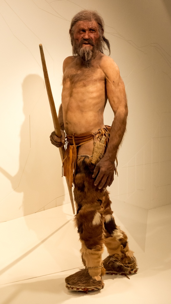 Photo Two (Otzi reconstruction) by https://en.wikipedia.org/wiki/%C3%96tzi