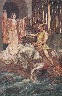 Photo One by By E. Wallcousins - 'Celtic Myth & Legend', Charles Squire,, PD-US, https://en.wikipedia.org/w/index.php?curid=29984364
